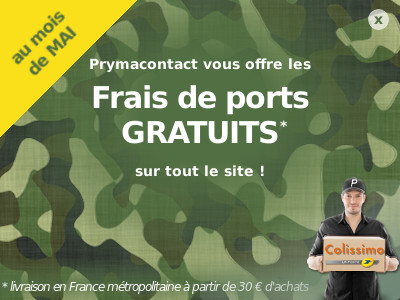 prymacontact surplus militaire stock am ricain