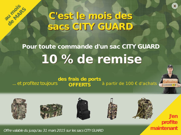 Sacs City Guard a -10%