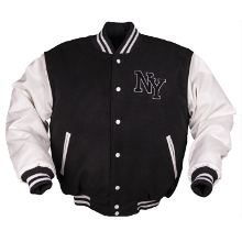 BLOUSON BASE BALL NEW YORK NOIR