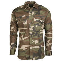CHEMISE US RIPSTOP CAMO CE