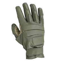 GANTS D'INTERVENTION CUIR KAKI CITYGUARD