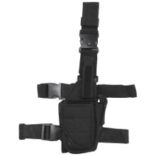 HOLSTER DE CUISSE SIMPLE MFH NOIR