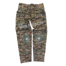 PANTALON DE COMBAT WARRIOR DIGITAL WOODLAND