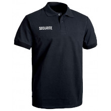 POLO SECURITE SERIGRAPHIE