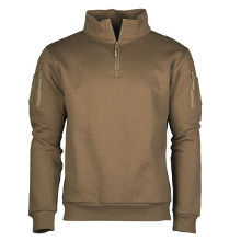 SWEAT SHIRT TACTIQUE ZIP COYOTE