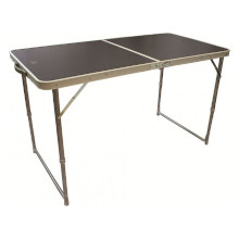 Table de camping double pliante