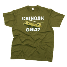 TEE SHIRT CHINOOK KAKI