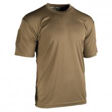TEE SHIRT TACTIQUE QUICKDRY COYOTE