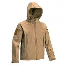 VESTE SOFTSHELL TACTIQUE COYOTE DEFCON 5