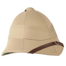 CASQUE TROPICAL ANGLAIS BEIGE