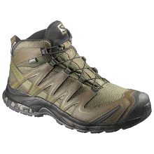 CHAUSSURES SALOMON XA PRO 3D MID GTX FORCES OLIVE