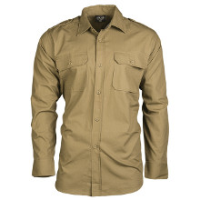 CHEMISE US RIPSTOP COYOTE