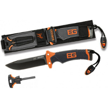 COUTEAU BEAR GRYLLS ULTIMATE LAME LISSE GERBER