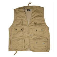 GILET MULTIPOCHES A FILET