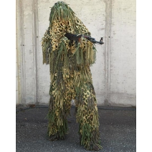 TENUE GHILLIE JUNGLE CAMO
