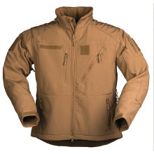 VESTE SOFTSHELL SCU 14 COYOTE FONCE