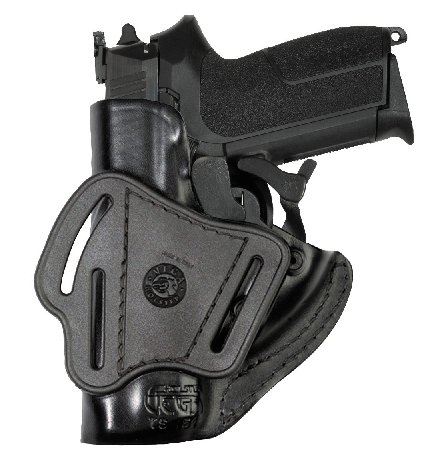 HOLSTER CUIR A RETENTION VEGA TS 151 POUR SIG P2022