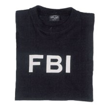 TEE SHIRT IMPRESSION FBI SWAT