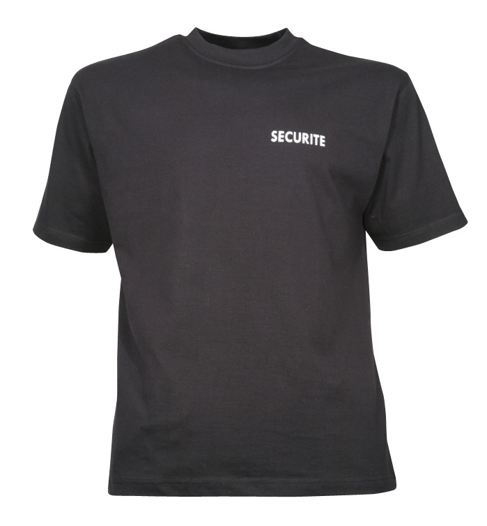 TEE-SHIRT SECURITE 180G
